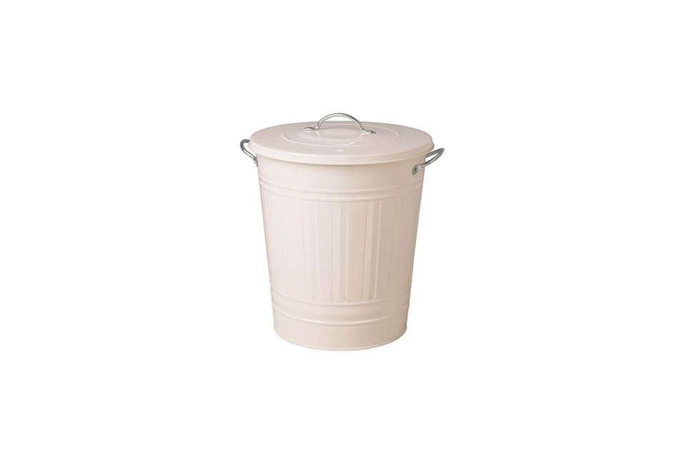 Ikea Knodd Bin with White Lid