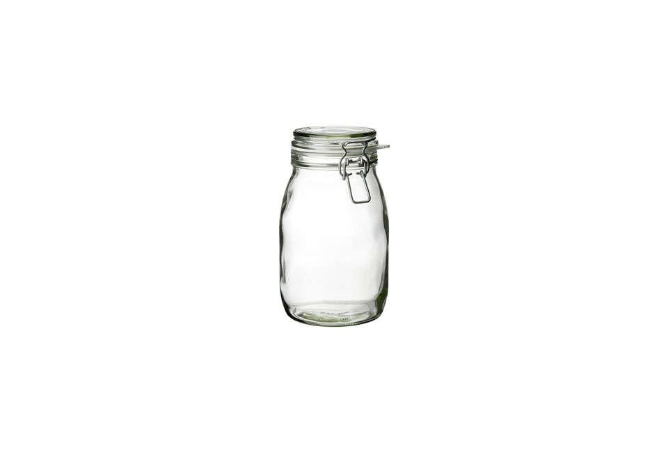 Ikea Korken Glass Jar with Lid