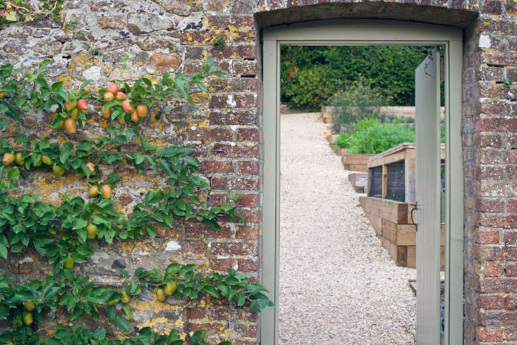 The kitchen garden, The Pig, Combe