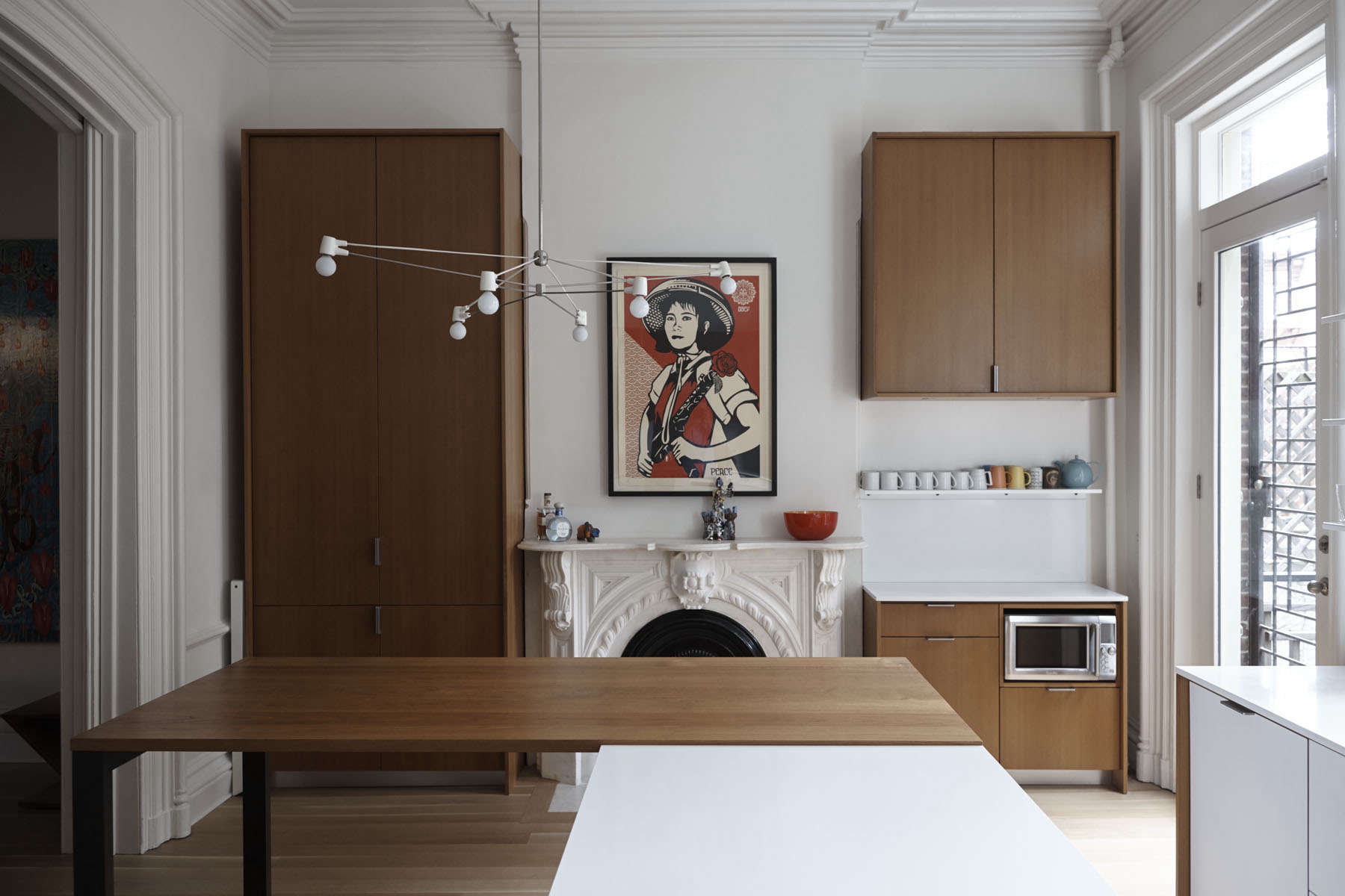 Kitchen cabinets eastern ct - Kitchen Of The Week A Something Old Something New Kitchen In Brooklyn