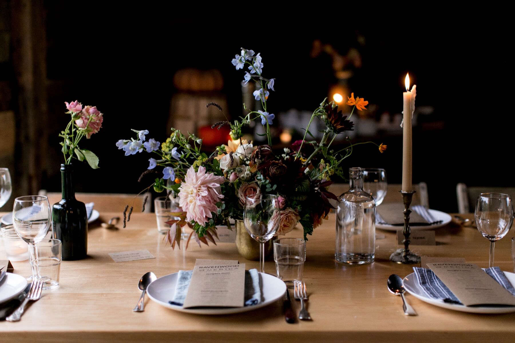 Restaurant table setting ideas - How To Set A Holiday Table The Ravenwood Barn In Upstate Ny A