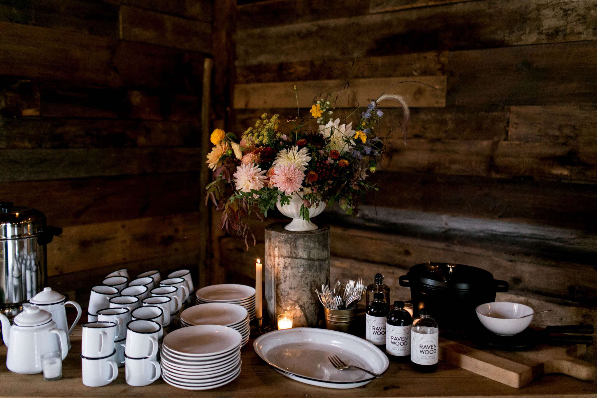 ... Elegant Harvest Table Setting Ideas