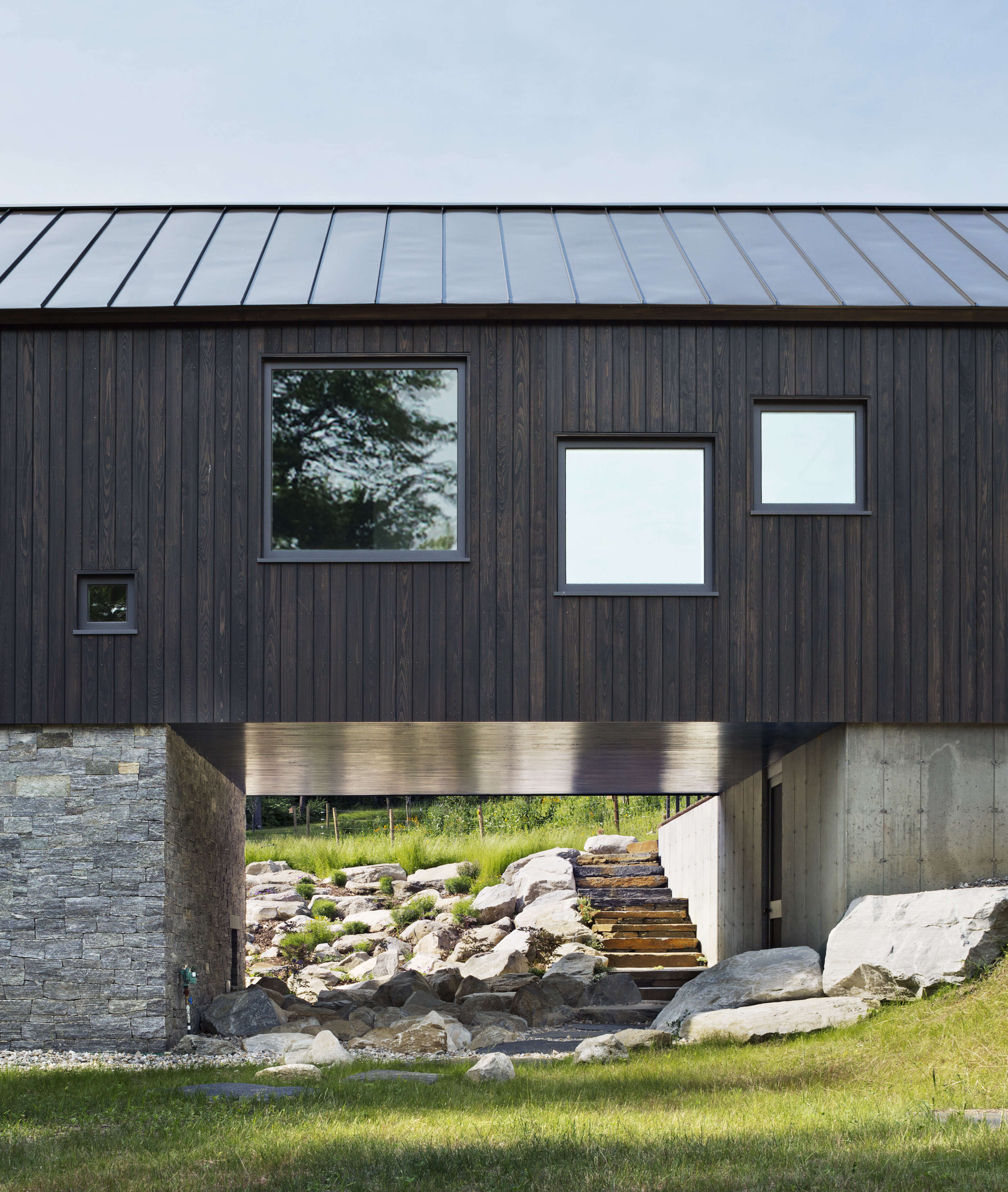 architect visit aging in place in the berkshires modern barn the