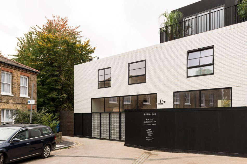 On the market a london new build inspired by the iconic for Maison london
