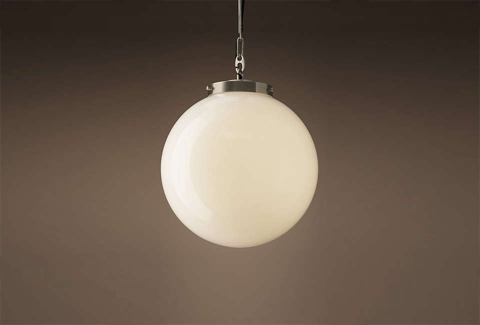 10 Easy Pieces White Globe Pendant Lights Blogs Bloglikes