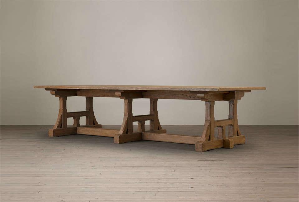 circa 1900 craftsman rectangular dining table remodelista. Black Bedroom Furniture Sets. Home Design Ideas