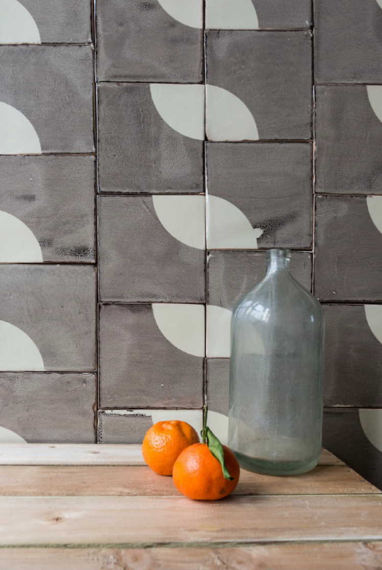 Subtle Imperfections Screen Printed Ceramic Tiles From A Small Batch London Company Remodelista