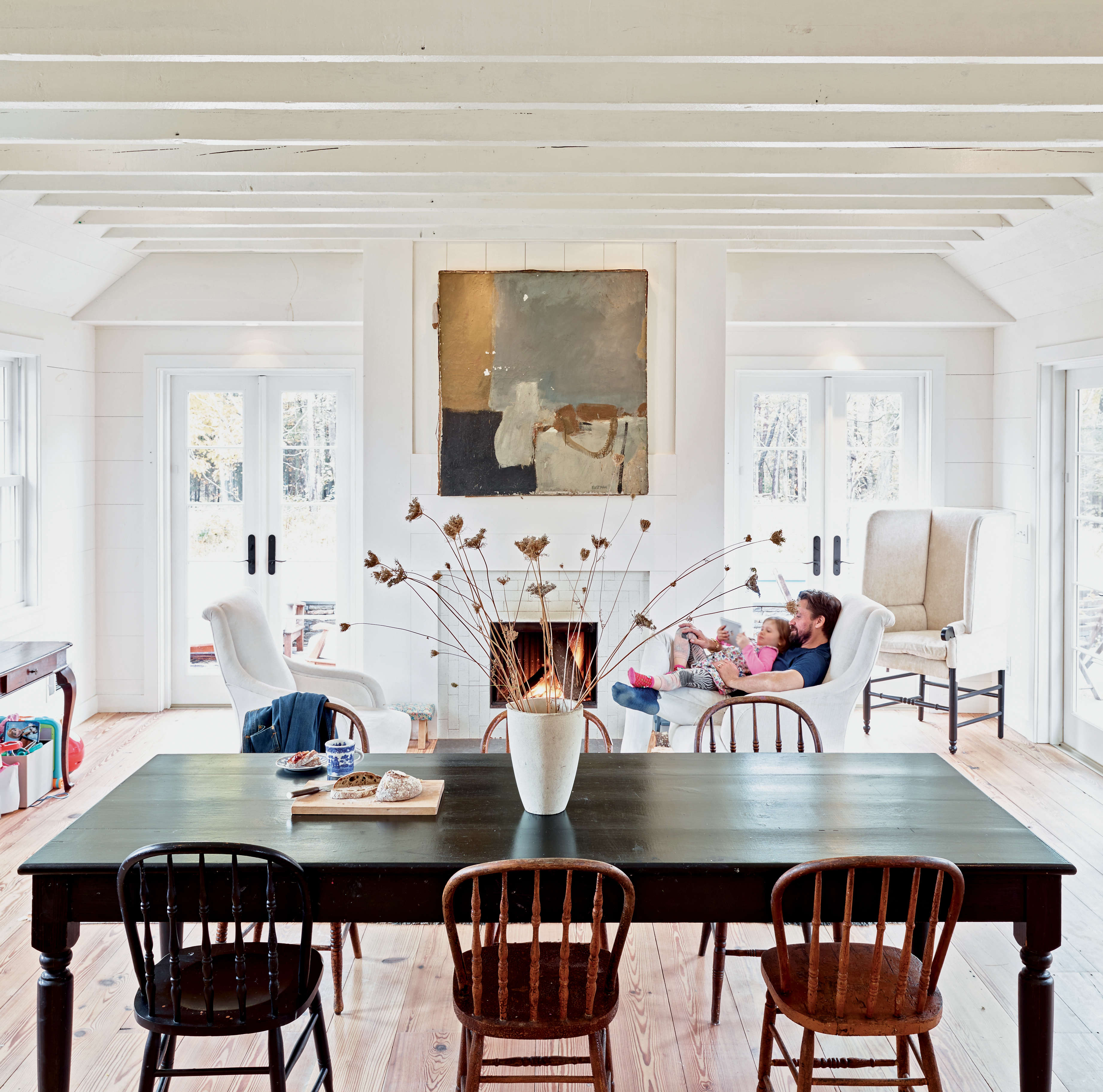 Taavo Somer Dining Room Upstate from Freeman's Book