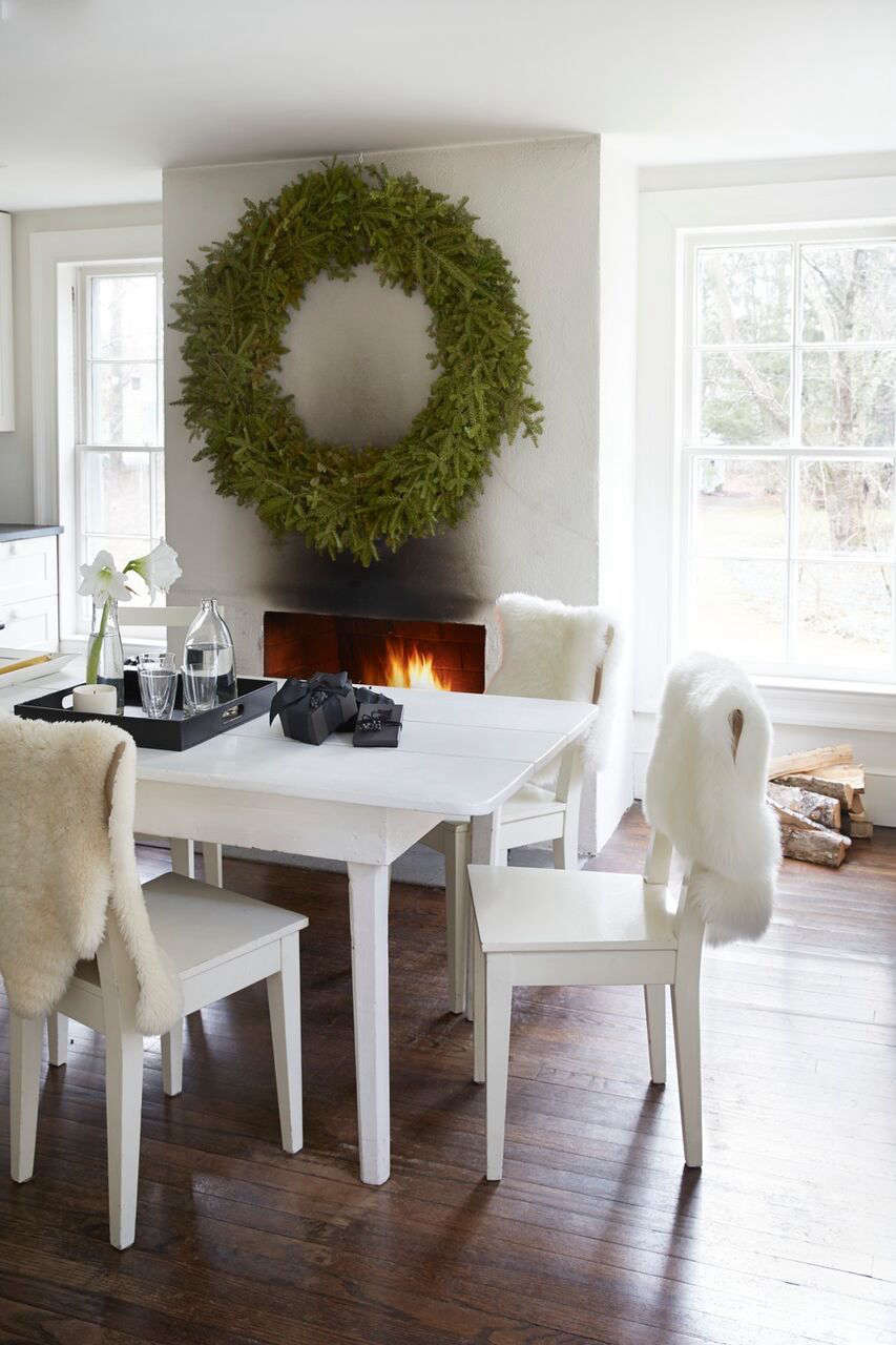 The Monochrome Holiday: 8 High/Low Design Tips from Tricia Foley