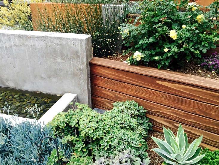 Water Retaining Walls : Hardscaping retaining walls gardenista