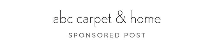 Sponsored enter to win 500 to shop the abc carpet home for Abc carpet outlet sale
