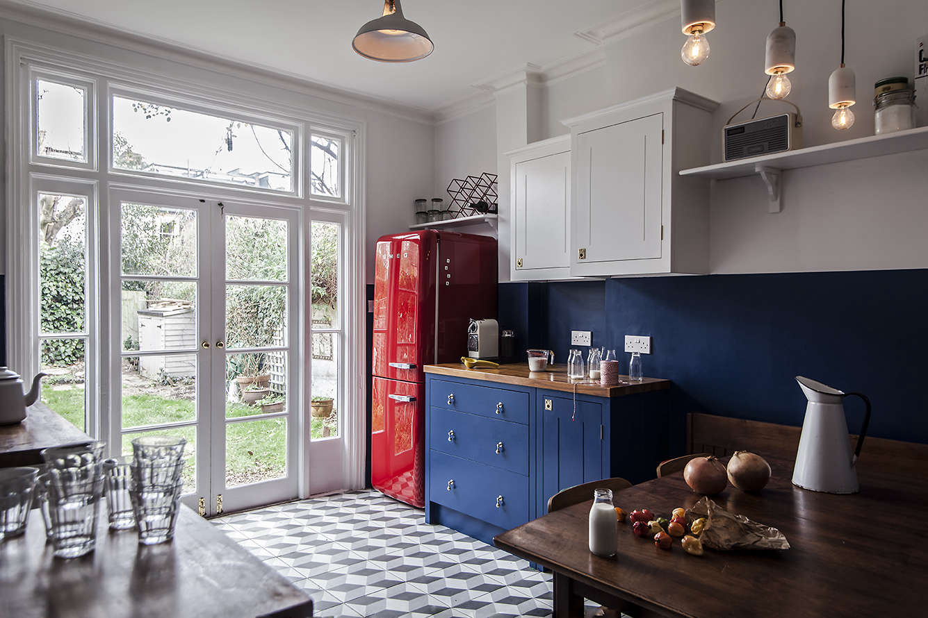 Steal This Look A Cost Conscious Retro Kitchen In London Remodelista