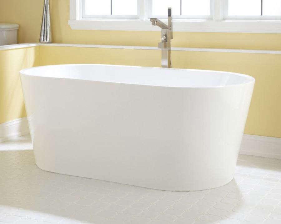 Eden Acrylic Freestanding Tub Remodelista