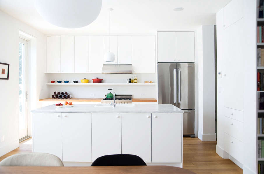 Modern Kitchen Marble Countertop remodeling 101: marble countertops - remodelista