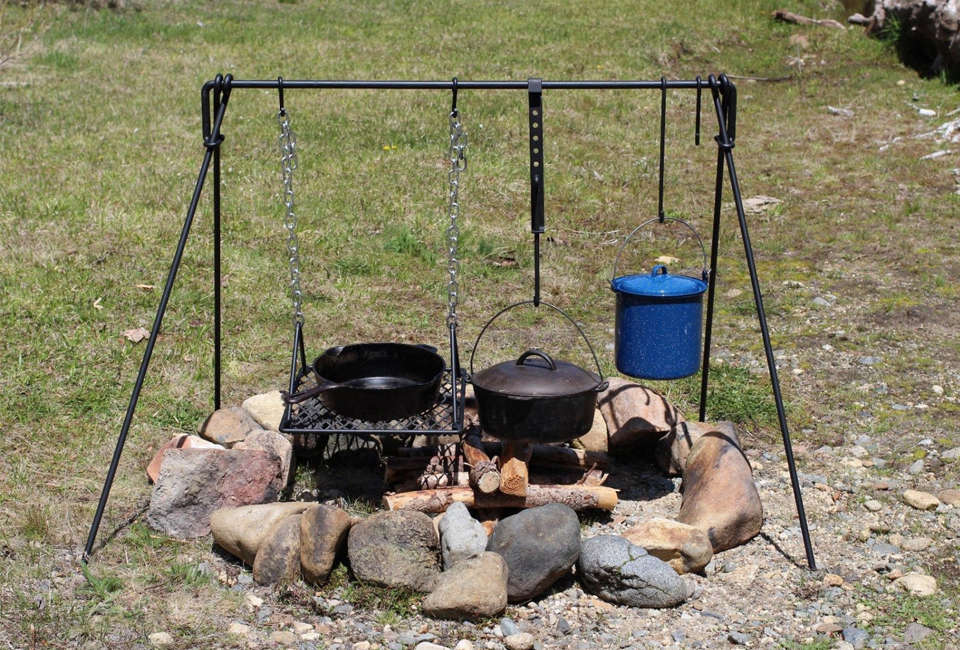 10 Easy Pieces Open Fire Cook Stoves