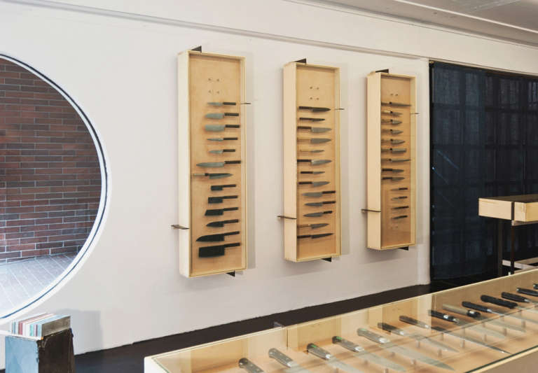 scott scott architects ai om knives display