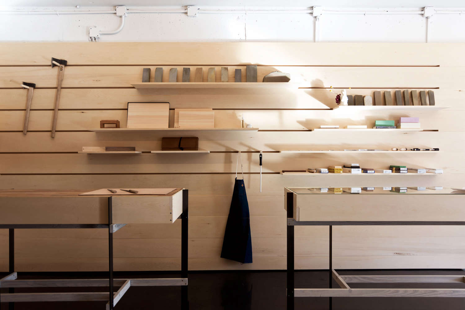 Shopper's Diary: An Architect-Designed Artisan Knife Shop in Vancouver