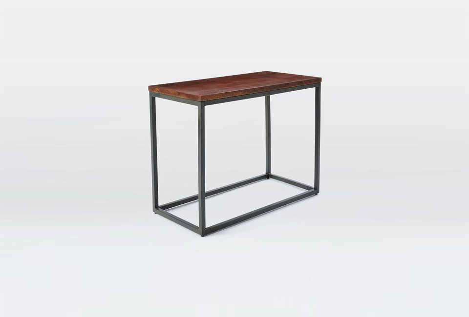 Narrow Side Table Small With Storage Goolba