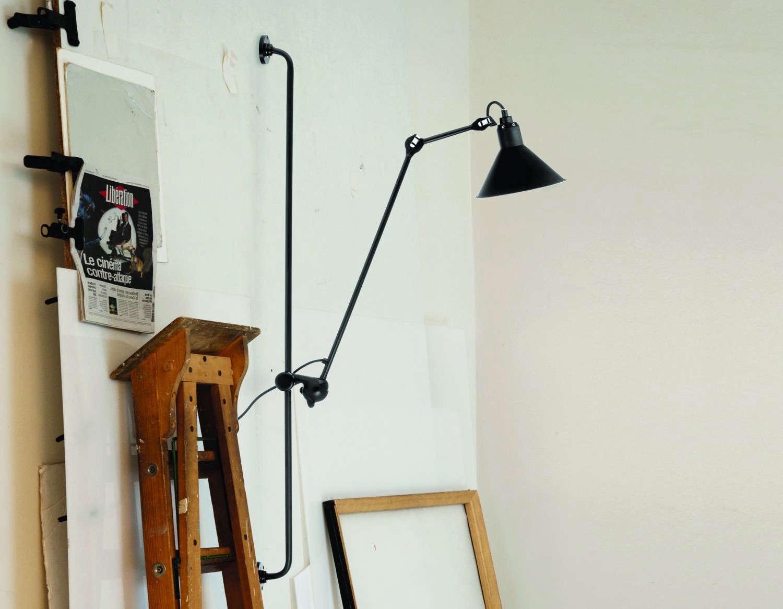 Pied De Lampe Am Pm high/low: wall-mounted lampe gras   remodelista: sourcebook