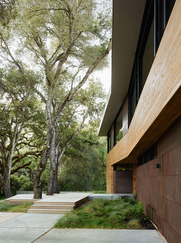 Carmel-Valley-wood-corten-exterior-Garden-Piechota