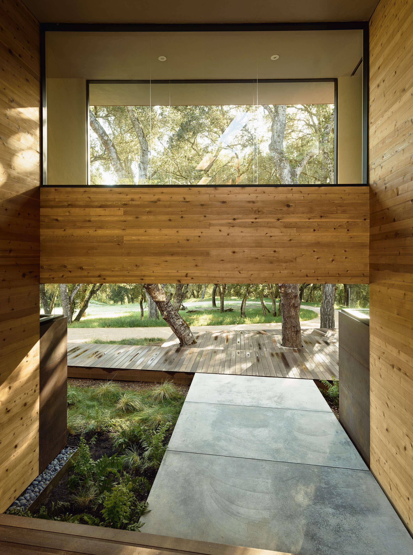 Carmel-Valley-wood-walkway-concrete-slab-garden-piechota