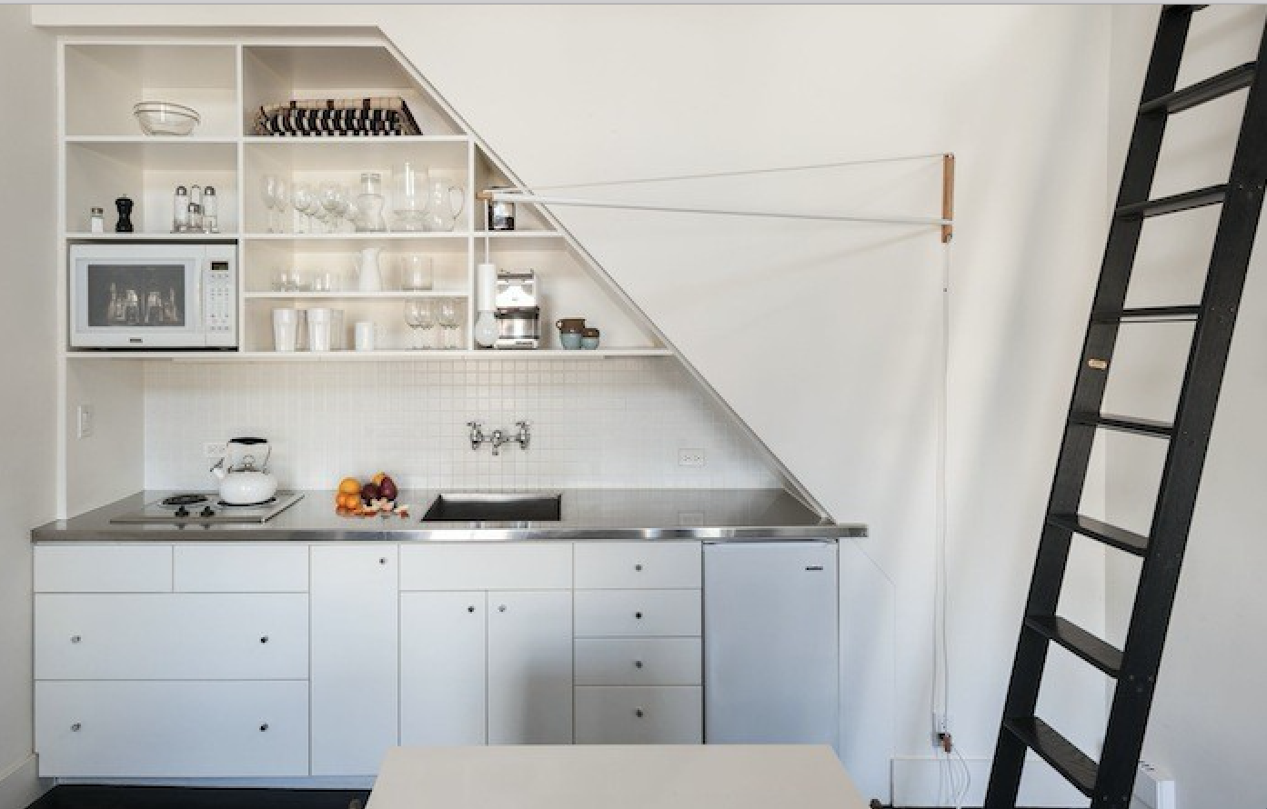 remodeling 101: stainless steel countertops - remodelista