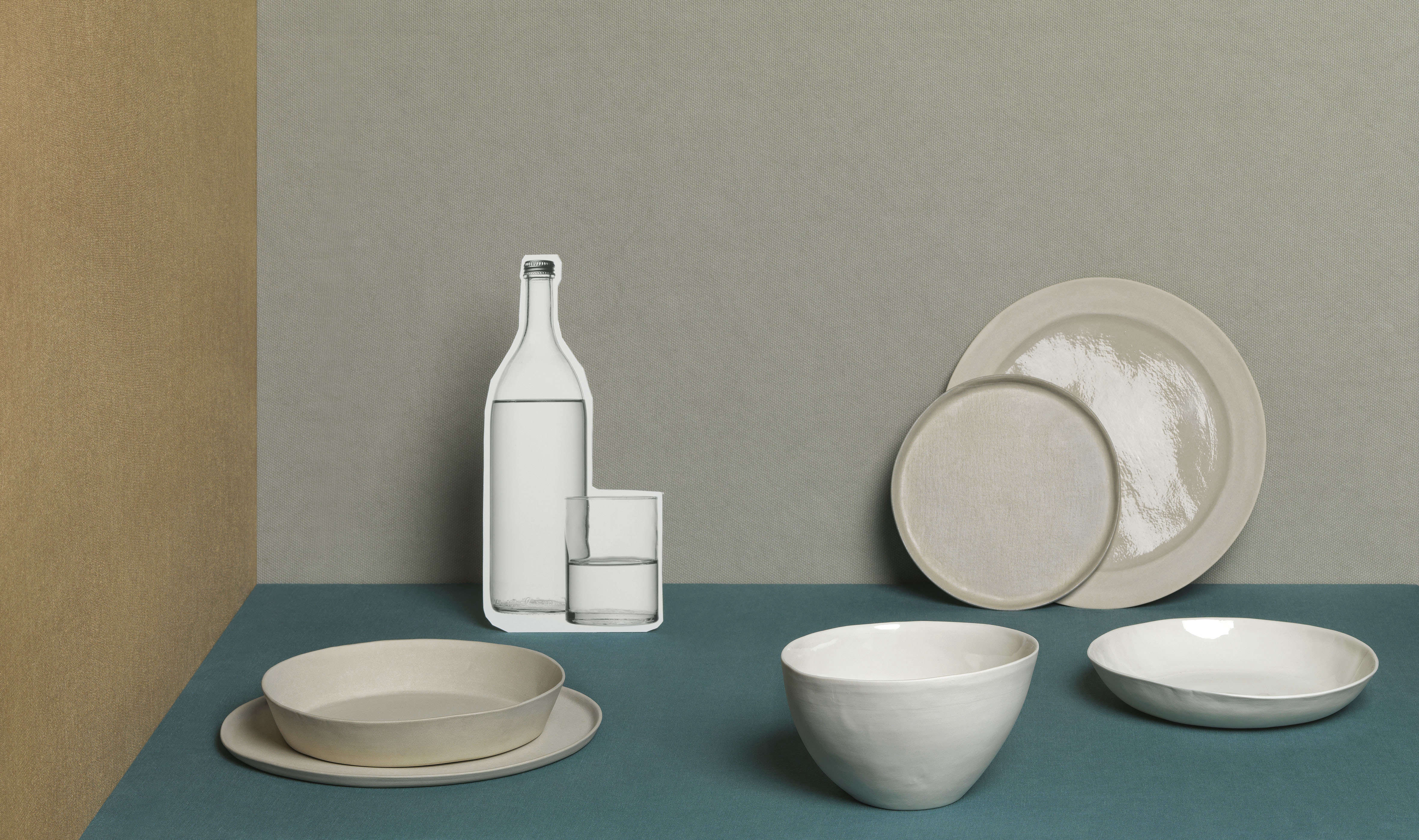Fabric Effect Ceramics from Society Limonta