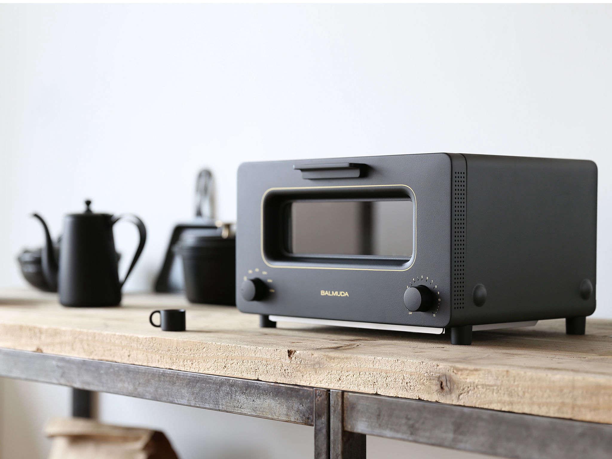 Balmuda Toaster Oven in Black