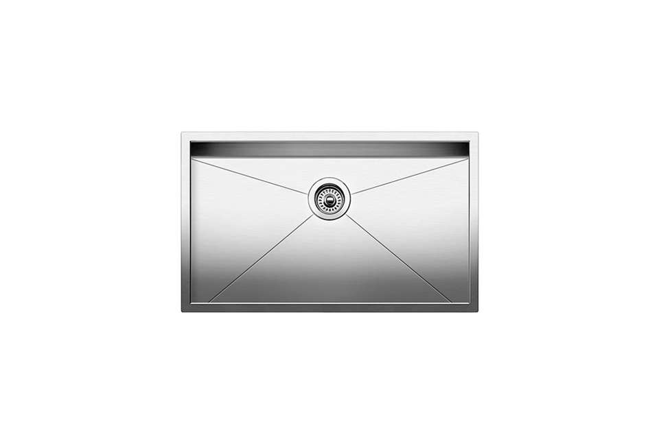 the blanco precision single bowl 3\2 inch undermount sink is \$853.80 at aj mad 16