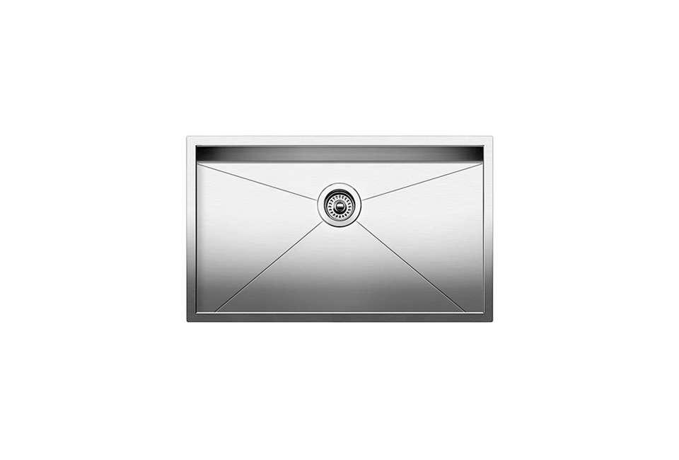 Blanco Precision Undermount Super Single Bowl Stainless Steel Sink