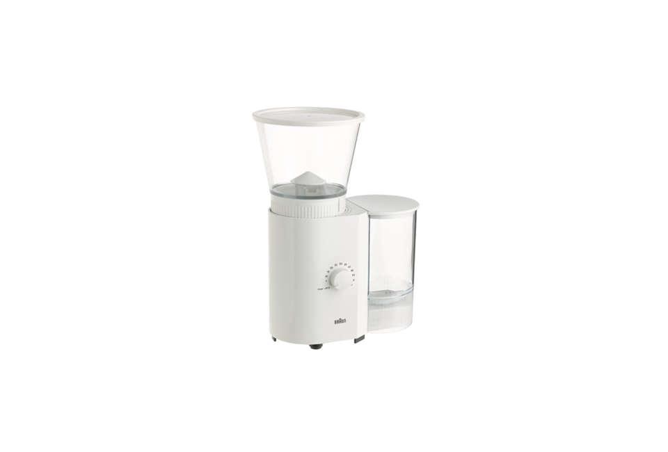 Braun Coffee/Espresso Mill in White