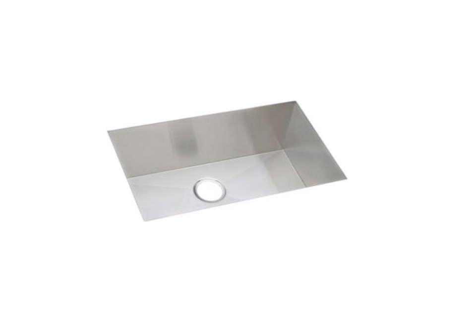 Elkay Avado Stainless Steel Single Bowl Undermount Sink Kit