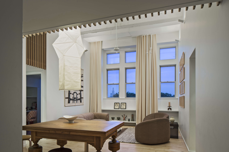 Jennifer Hanlin Cobble Hill Apartment Dining Room 2, Photo by Eduard Hueber