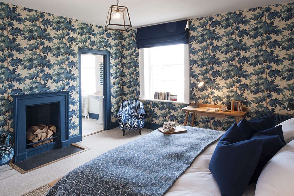 Steal This Look: A Riotously Patterned Bedroom Suite in England by Suzy Hoodless