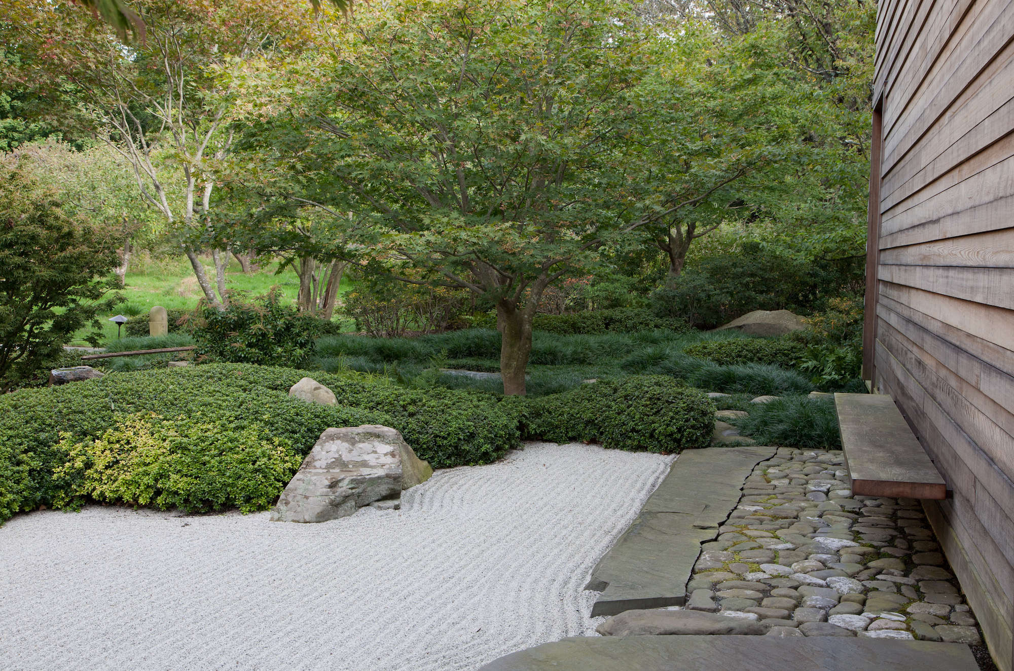 Above: Serenity Now: We Love This Garden In Irvington, New York, Created By  A Japanese Garden Specialist To U201cinspire Contemplation.u201d