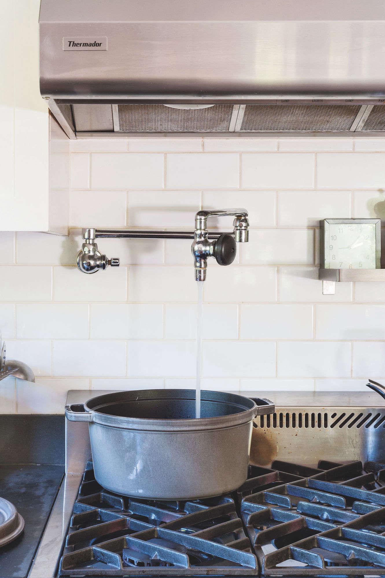 julie carlson mill valley matthew williams remodelista Pot filler vertical