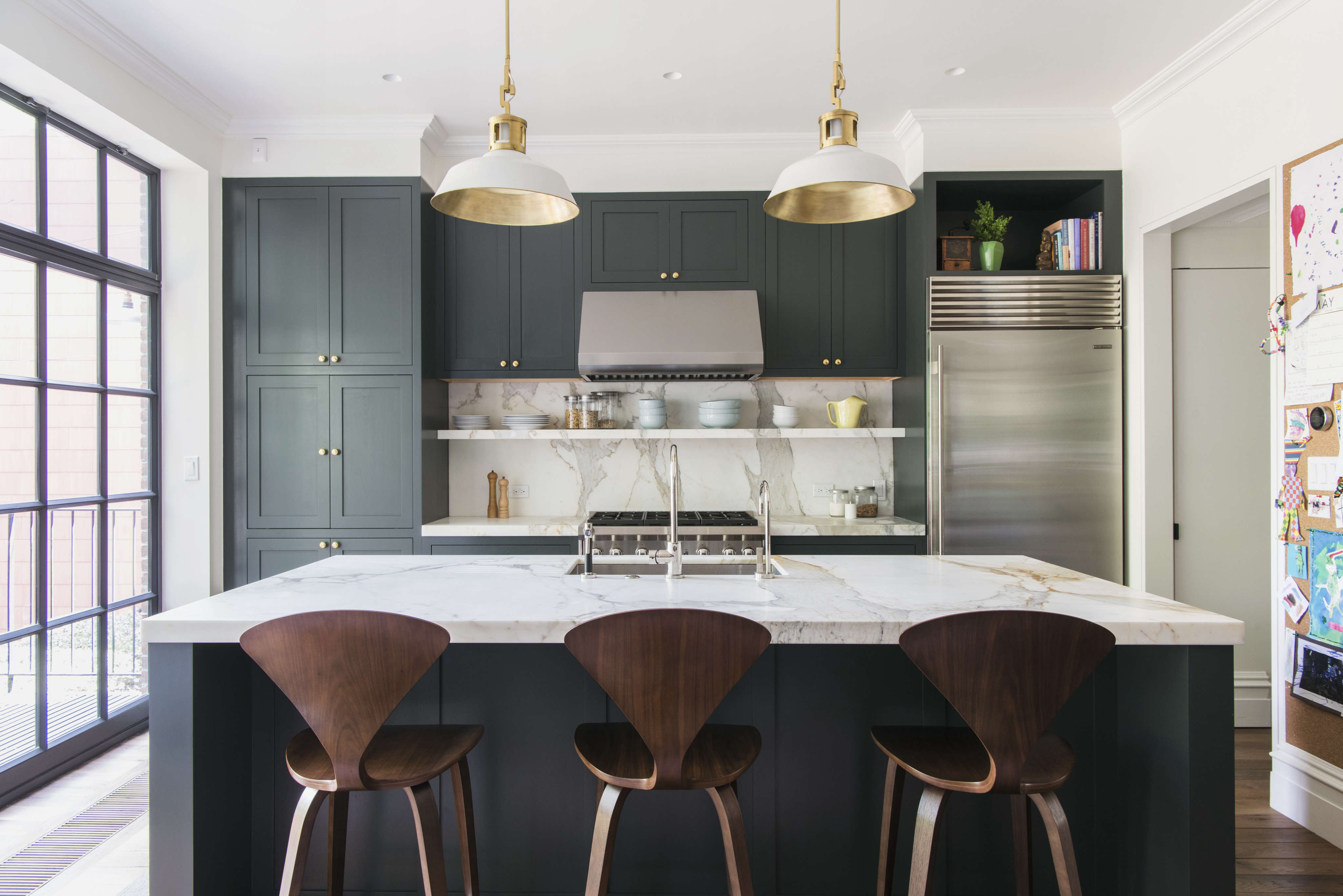 An unfussy brooklyn townhouse remodel from architect for Kitchen cabinets brooklyn