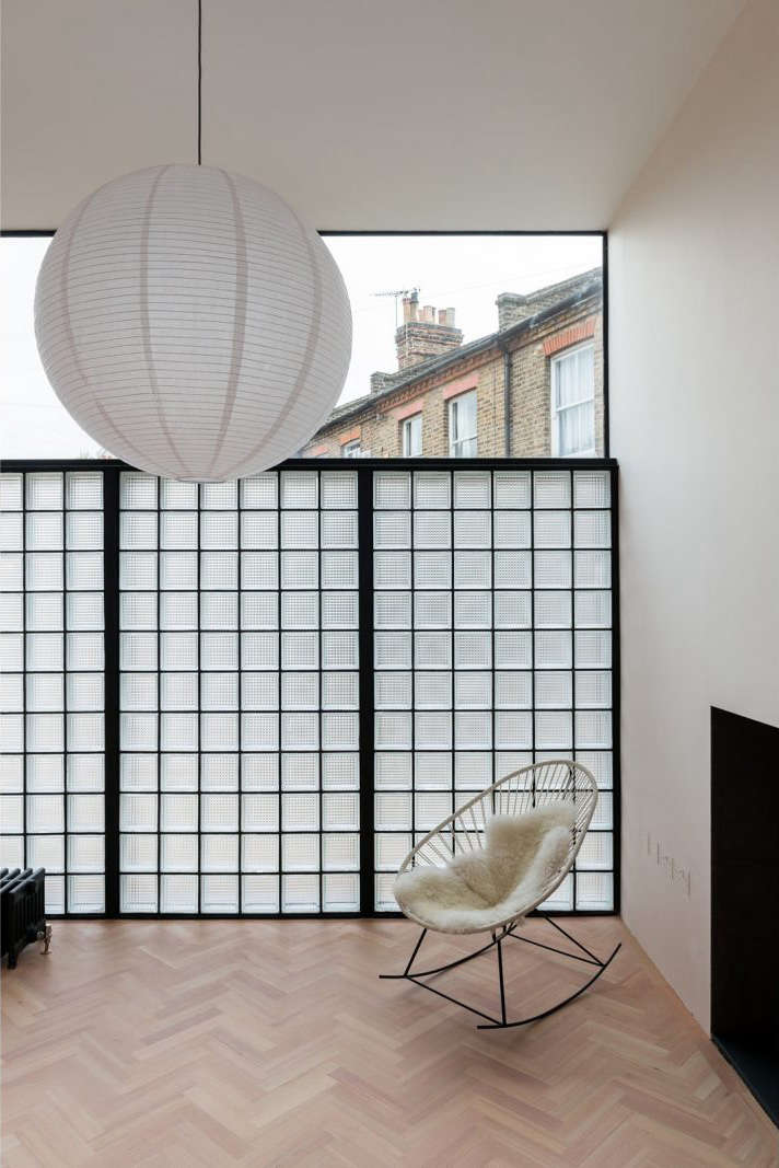 how to build a freestanding glass block wall