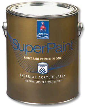 Superpaint Exterior Acrylic Latex Gardenista