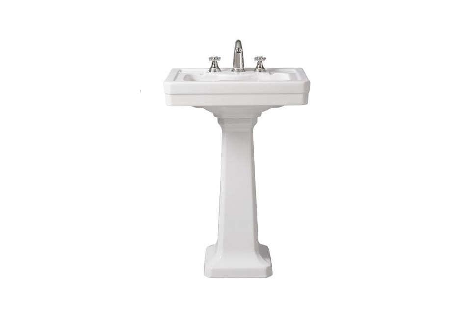 Porcher Lutezia Pedestal Lavatory Slab Sink