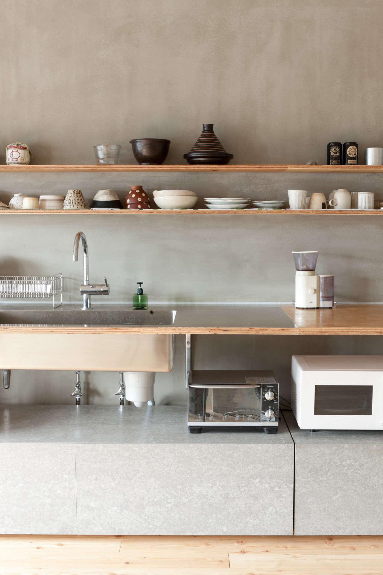 Setagaya Apartment Kitchen by Naruse Inokuma Architects
