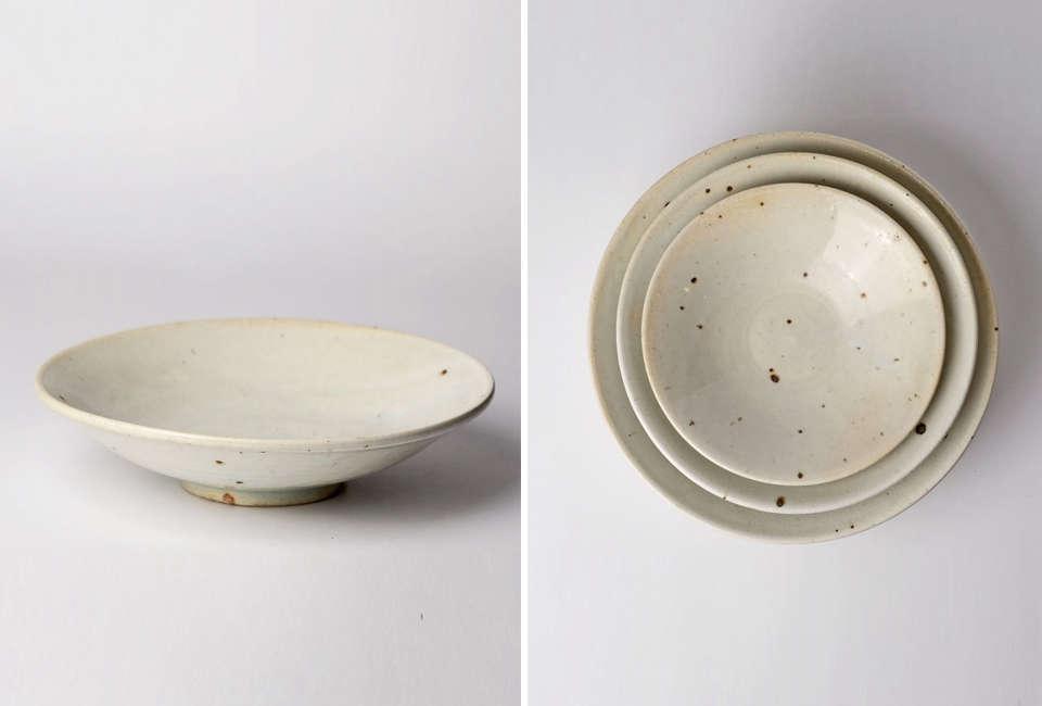 Shinji Hidaka Ash Glaze Bowl