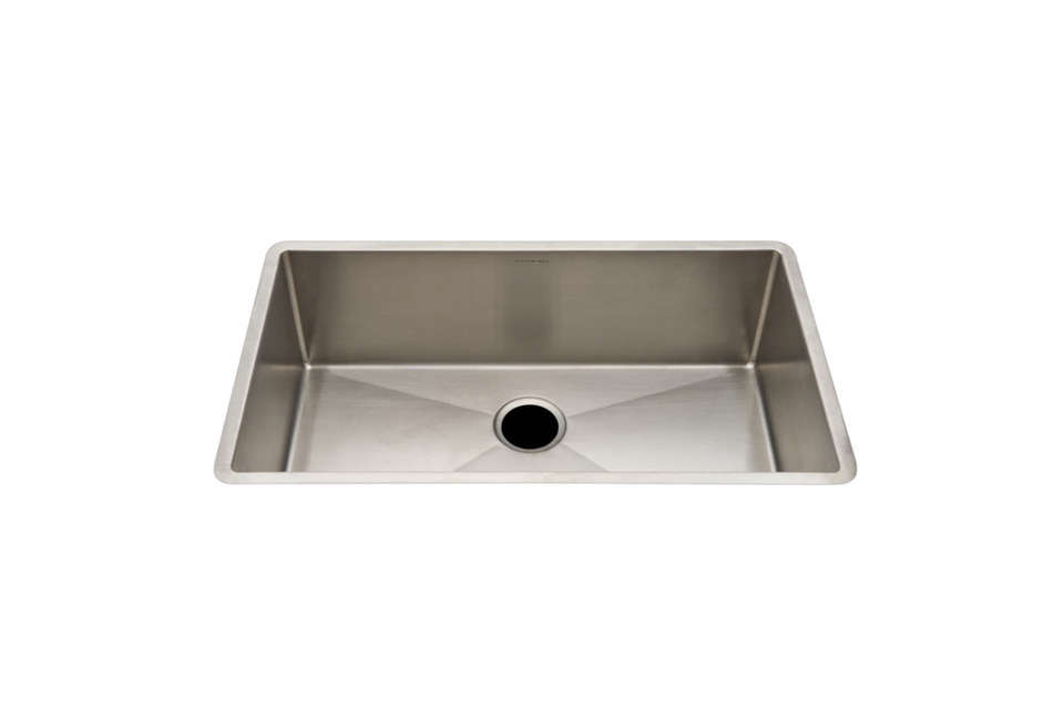 waterworks kerr stainless steel sink - Metal Kitchen Sink