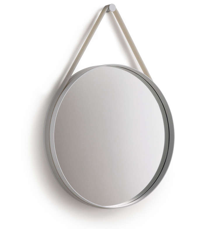 10 easy pieces circular wall hung mirrors remodelista. Black Bedroom Furniture Sets. Home Design Ideas