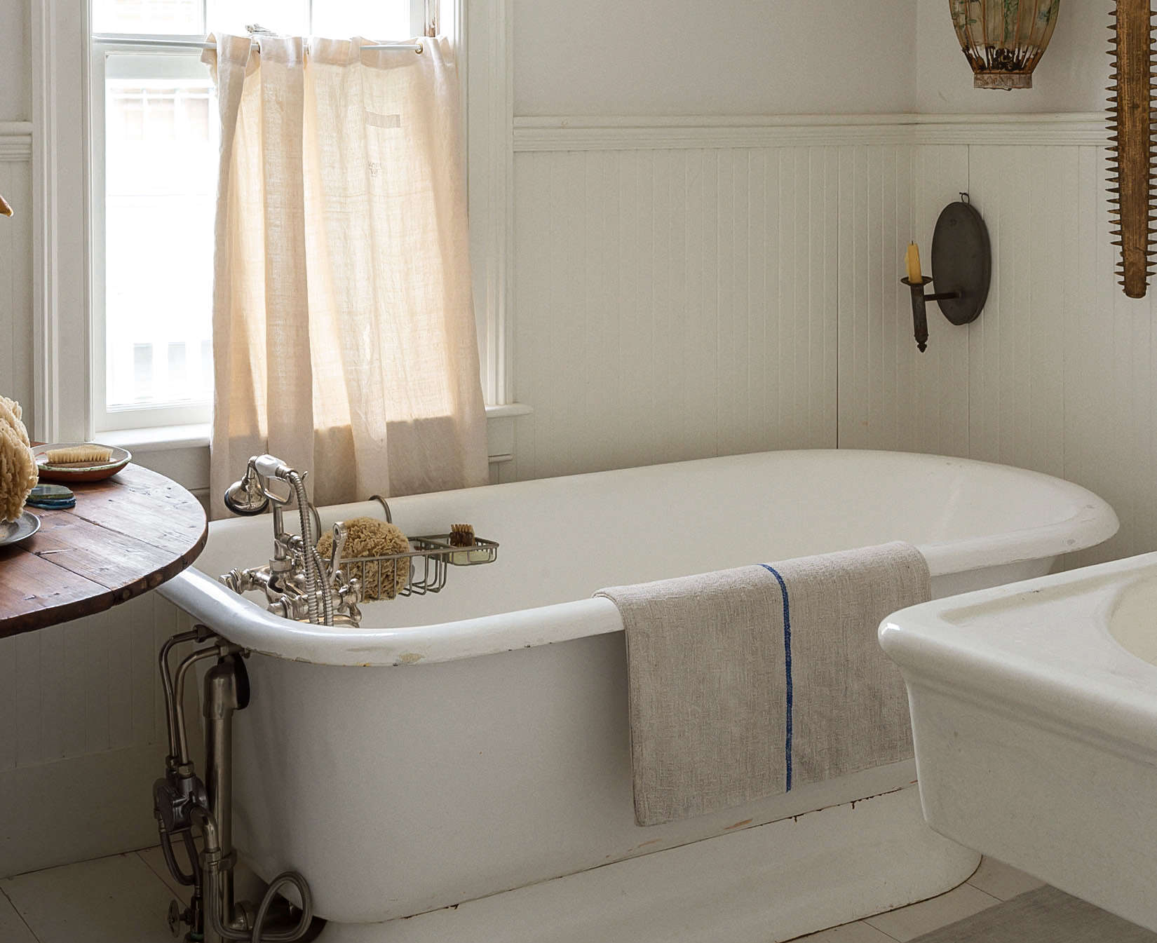 Bathroom of the Week: John Derian's Homage to Old Cape Cod
