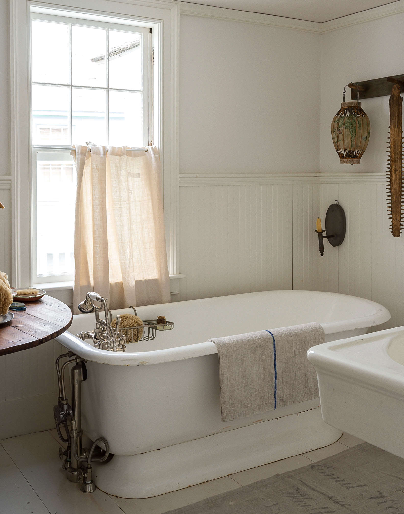 Bathroom Of The Week John Derian S Homage To Old Cape Cod