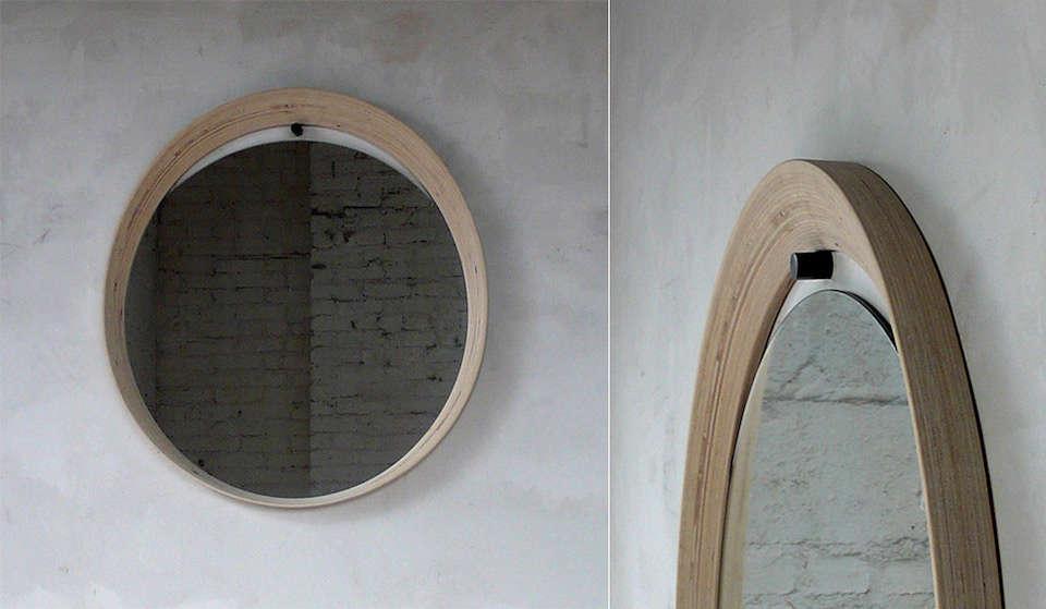 Mirror in Plywood Brendon Farrell