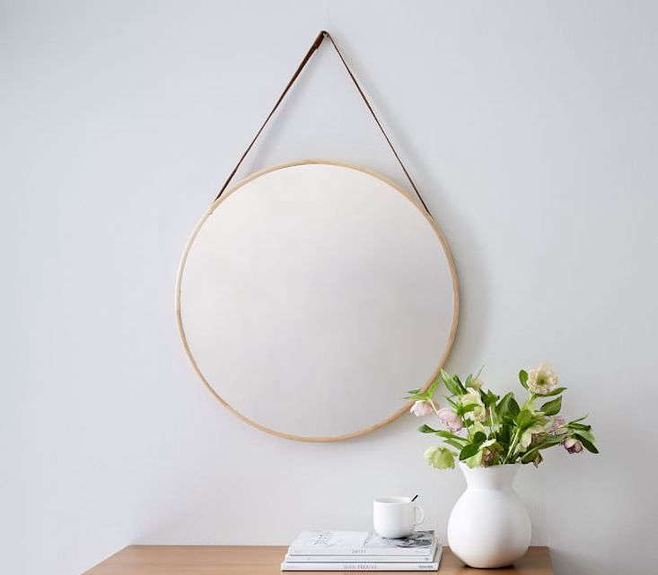 Modern Hanging Mirror from West Elm