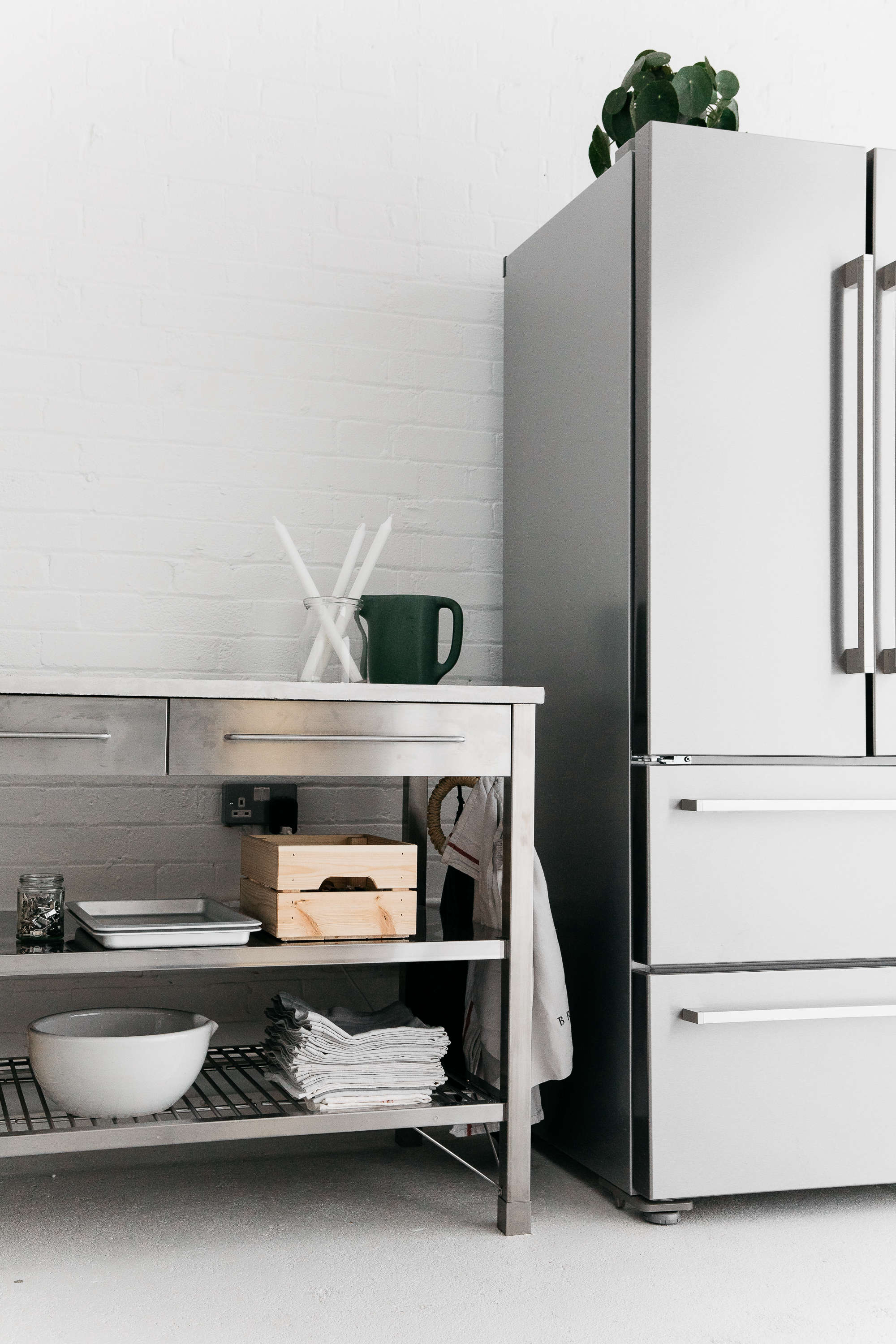 Kitchen of the Week: An Artful Ikea Hack Kitchen by Two ...