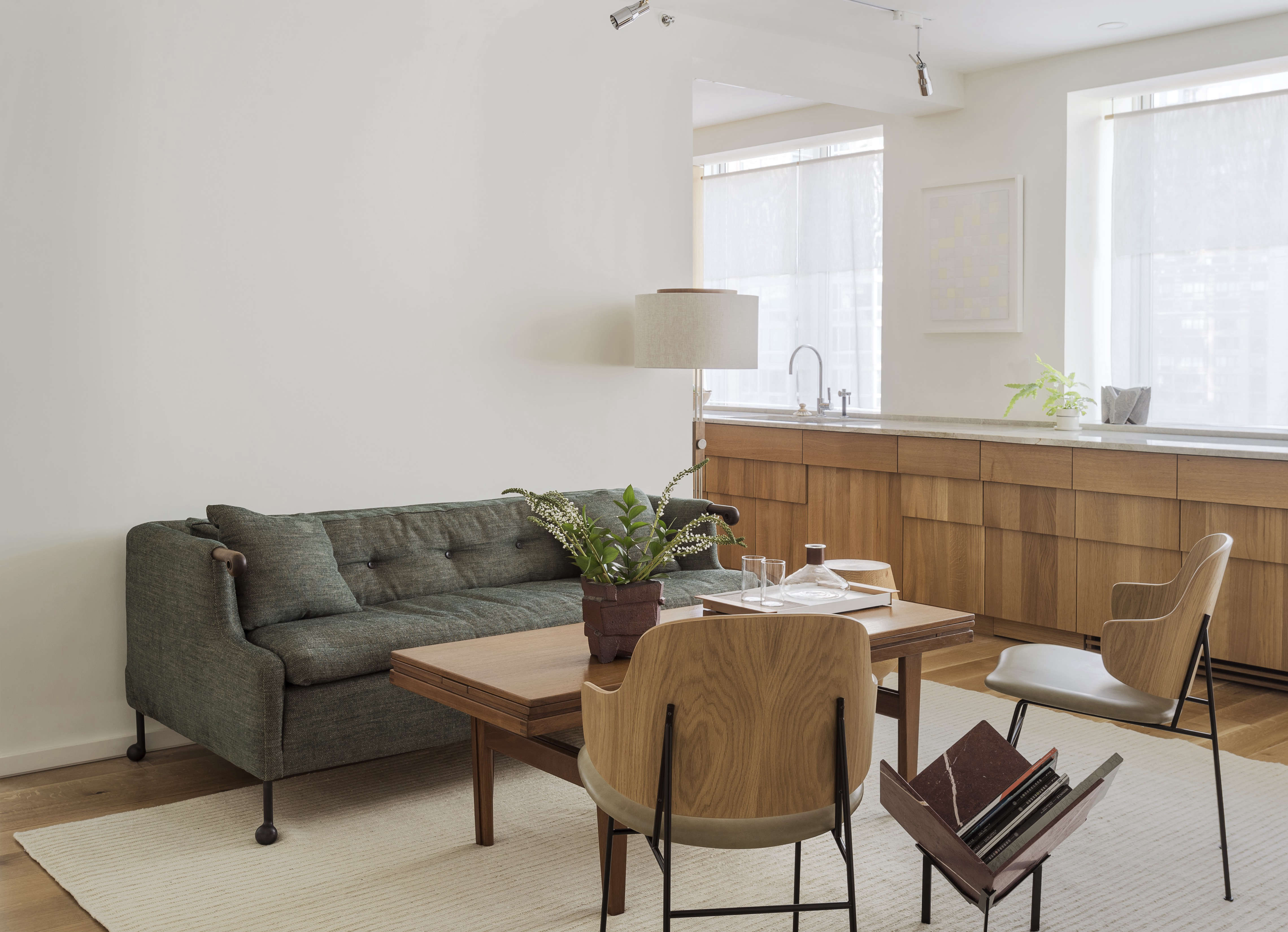 The Artful Shoebox Apartment Workstead Edition Remodelista